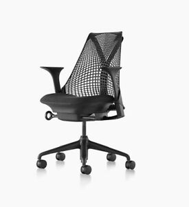 Herman Miller Sayl Office Desk Chair In Black Free Shipping Within Usa