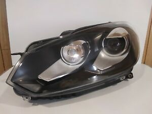 2010 2014 Volkswagen Golf Gti Headlight Assembly Hid Xenon Left Used Genuine Oem