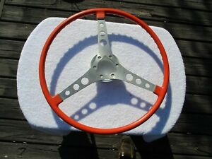 1956 1962 C1 Original Corvette Steering Wheel No Breaks