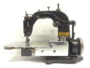 Antique Ultra Rare Special Tie Sewing Machine Lining Centralizing Machine Co