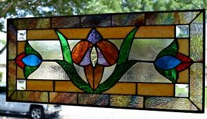 Elm Street Victorian Stained Glass Window