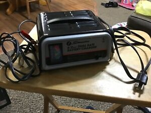 Schumaker 6 2 Amp Dual Rate Battery Charger Model Se 82 6 With Box