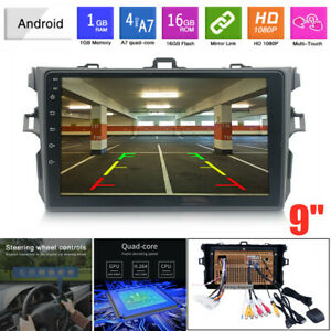 Fit For Toyota Corolla 2006 2012 Gps Navigation 1g 16g Android9 1 Car Mp5 Player