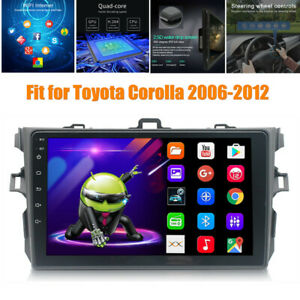 9 Android 9 1 Bluetooth Gps Car Mp5 Player Fit For Toyota Corolla 2006 2012