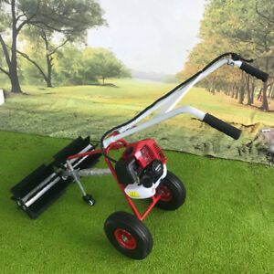 43cc 2stroke Gas Power Sweeper Driveway Cleaning Hand Held 1 25 Kw 1 7 Hp New