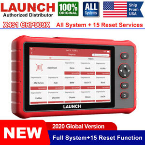Launch Crp909x Car Scan Tool Obd2 Scanner All Systems Automotive Diagnostic Tool
