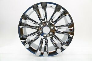 New Oem Gm 22 Chrome 7 Split Spoke Wheel Rim 19301159 Silverado Sierra 2014 18