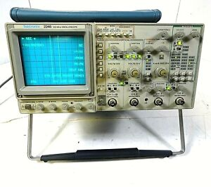 Tektronix 2246 100mhz Oscilloscope 4 Channels Free Shipping