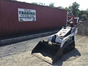 2011 Bobcat Mt55 Stand On Track Skid Steer Loader Only 1500 Hours