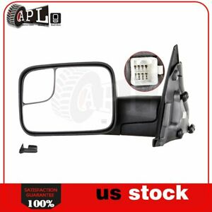 Power Heated Tow Mirror For 2002 2008 Dodge Ram 1500 2500 3500