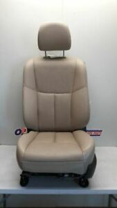 16 17 Nissan Altima Driver Left Front Bucket Seat Tan Leather Power