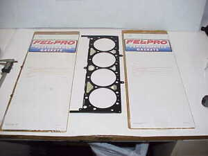 2 New Fel pro 26400 Multi Layered Steel Head Gaskets For Sb2 2 Chevy Nascar Nhra