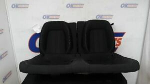 19 Ford Mustang Oem Rear Seat Black Set Black Cloth