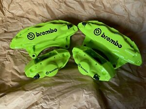Subaru Sti Front And Rear Brembo Calipers Impreza Wrx 04 05 06 07