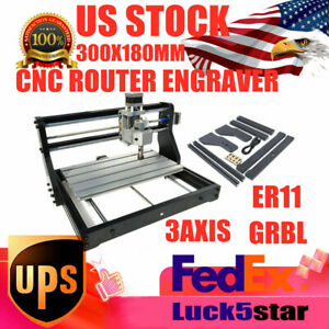 Mini Cnc 3018t 3axis Engraver Machine For Pcb Wood Carving Diy Miller Machine Ce