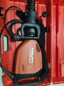 Hilti Te 1500_avr 230v Demolition Hammer Package W 2 Bits Brand New
