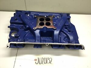 Ford 390 Gt Fe 4bbl Cast Iron Intake Manifold C6ae 9425 G 1966 S Code