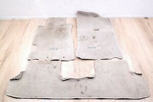 02 06 Acura Rsx Type S Oem Front And Rear Floor Mats Carpet Biege