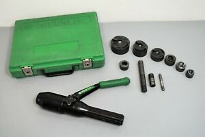 Greenlee 7804sb Quick Draw Hydraulic Knockout Punch Driver Set 1 2 2