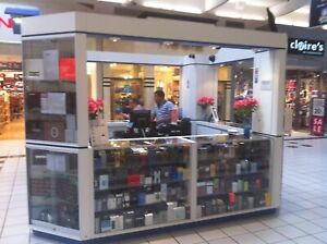 Mall Kiosk Jewelry Cell phone Perfume Business Opportunity