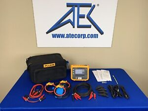Fluke 1730 Three phase Power Logger W 3x 1500a Iflex Current Probes