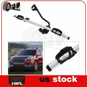 Roof Bicycle Carrier Aluminum Alloy Universal Mount Bracket W Lock Car
