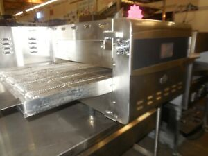 Used Ovention Inc Conveyor Pizza Oven Electric