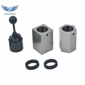 New 5c Collet Block Set Square Hex Rings Collet Closer Holder