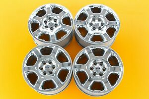 Ford F150 Expedition 2013 2014 Chrome 20 Oem Set Of 4 Wheels Rims 3916 103