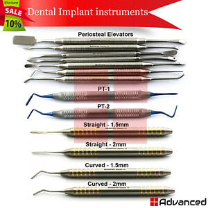 Dental Implant Surgery Kit Tooth Extraction Pdl Periotome Periosteal Elevators