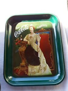 Coca Cola 75th Anniversary Metal Tray Reproduction 1975 Vintage Coke Numbered