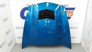 14 Chevy Corvette C7 Z51 Oem Hood Assembly Blue