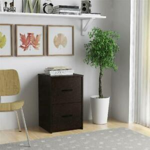 Ameriwood Home 2 drawer File Cabinet Multiple Finishes Resort Cherry
