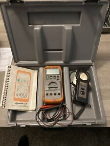 Blue Point Multi mate Multimeter Case Leads Mt586ak Snap on Manual Tool Lot