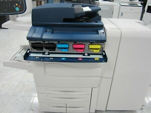 Xerox Color C60 Digital Press Production Printer 65ppm Only 3 000 Prints Total
