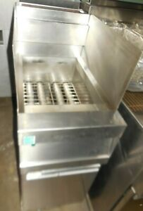 Used Frymaster cfhd150gnt 50lbs Fryer With Filtration System Natural Gas