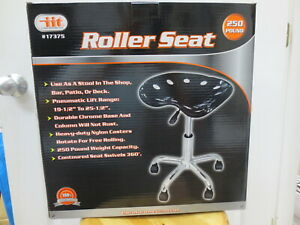 Iit 17375 Roller Seat W Pneumatic Lift 250 Pound Rating