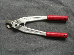 Hit Hwc9 Wire Rope And Cable Wire Cutter With Aluminium Handle