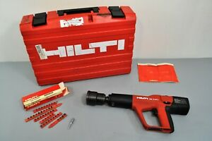 Hilti Tools Dx a41i Powder Actuated Fastening Systems Kit Drywall Concrete Steel