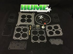 Holley Rebuild Kit Vacuum Secondary 4160 Gasket Carburettor 390 600 750