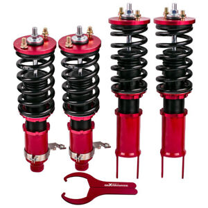 Tt Coilover Kits For Honda Civic 96 00 Shock Absobers Adjustable Height Red