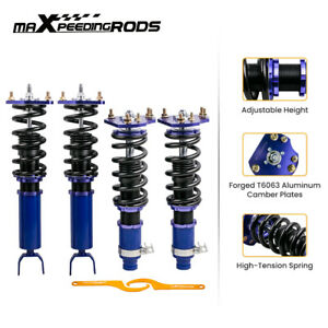 Height Adjustable Coilovers For Honda Prelude 1992 2001 Lowering Shocks Struts