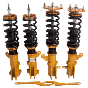 Coilovers Kit For Hyundai Tiburon 2003 2008 Adjustable Height Shocks Absorbers