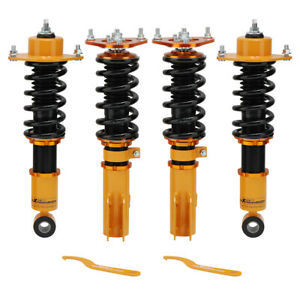 4pcs Coilovers Kits For Toyota Corolla 03 08 Matrix Coil Over Shock Strut Coil