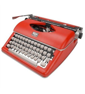New Royal 79120q Manual Typewriter