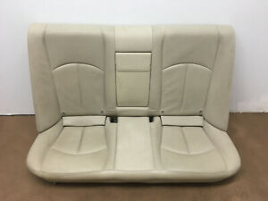 2003 2006 Mercedes E500 W211 E320 Rear Seat Beige Leather