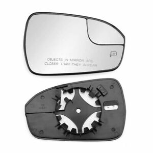 Heated Rear View Mirror Glass For Ford Fusion 2013 2020 Right Passenger Side