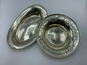 448 Grams Sterling Silver 925 Bowl Dish Clean Not Scrap Lot