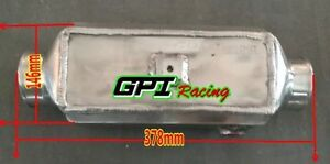 Gpi Universal Aluminum Turbo Front mount Water To Air Intercooler Extra Cooling