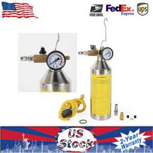 Flush Canister Gun Kits Clean Tool For Auto A C Air Conditioning R134a R404a Us